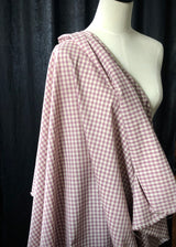 Japanese Cotton Gingham, Lilac