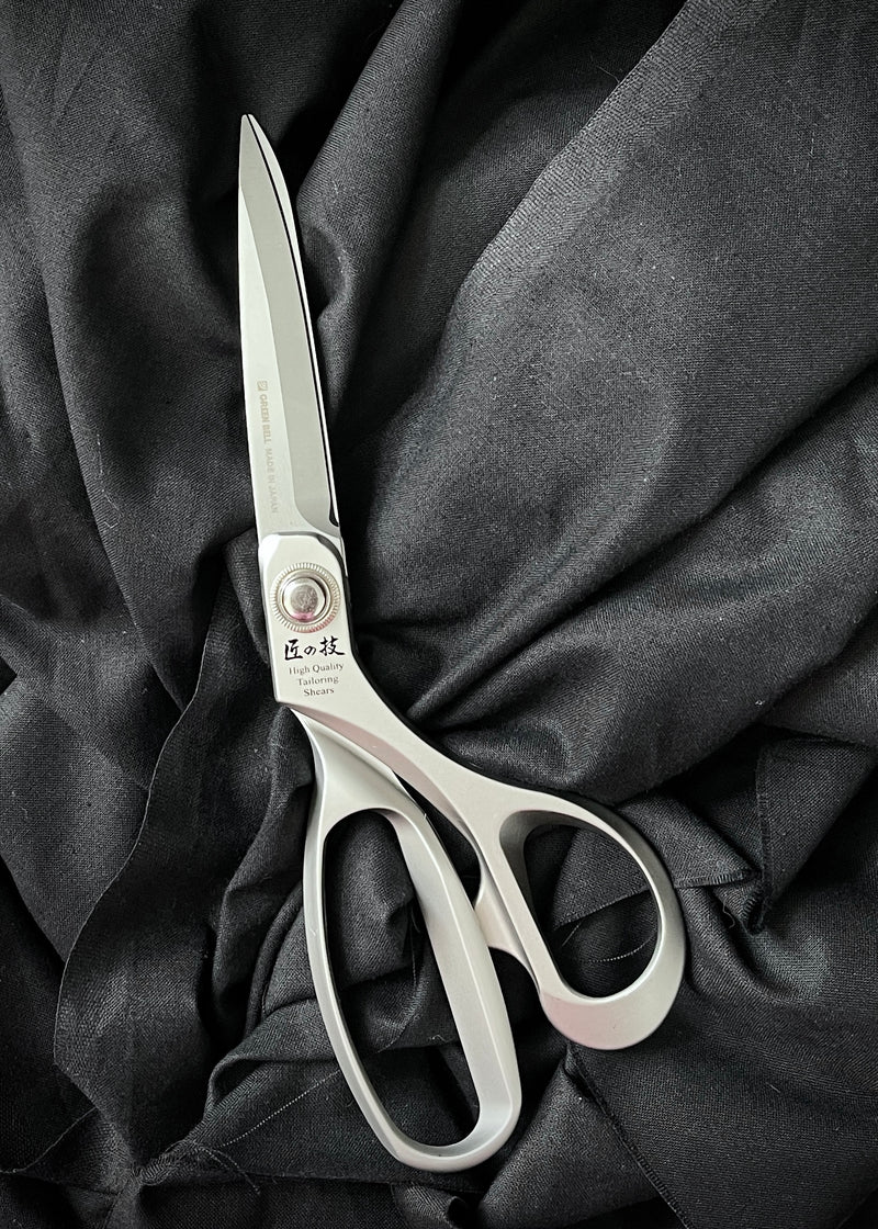 Green Bell Takumi Professional Tailor's Shears. 9.5""