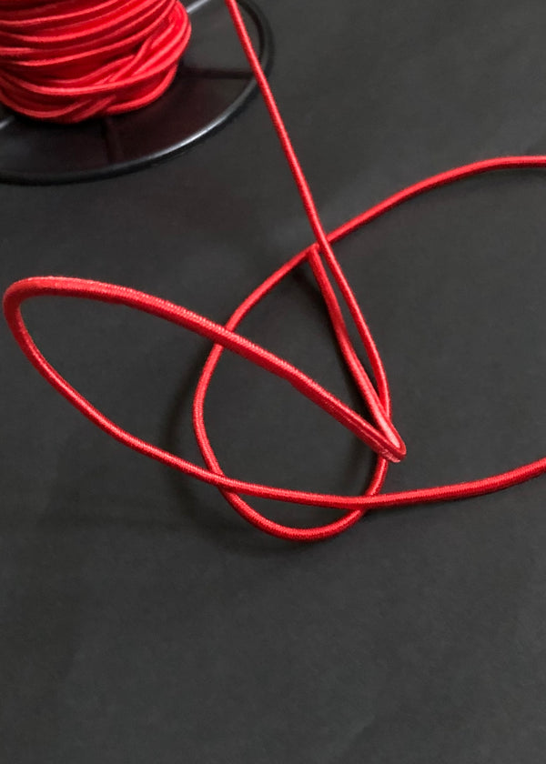 Shock Cord Elastic 3mm - Red