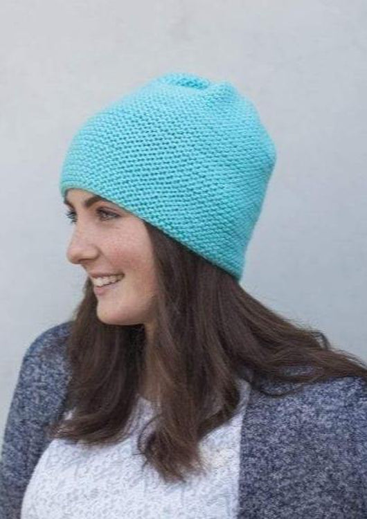 Boyfriend Beanie, The Woven Knitting Pattern