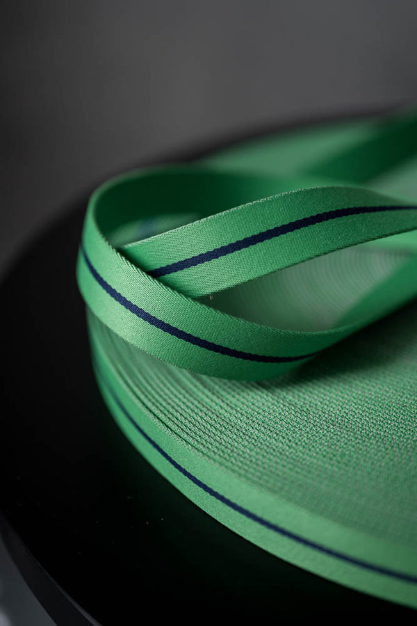 Bag Webbing - Long Road 30mm  Green