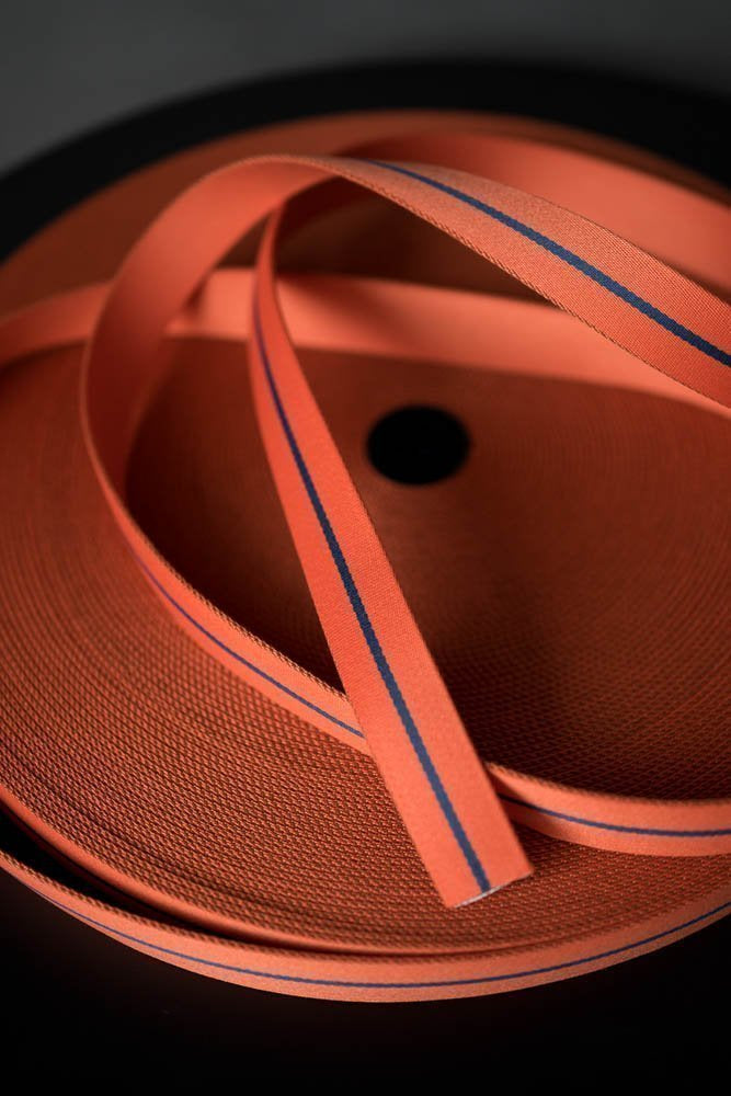 Bag Webbing - Long Road 30mm  Orange