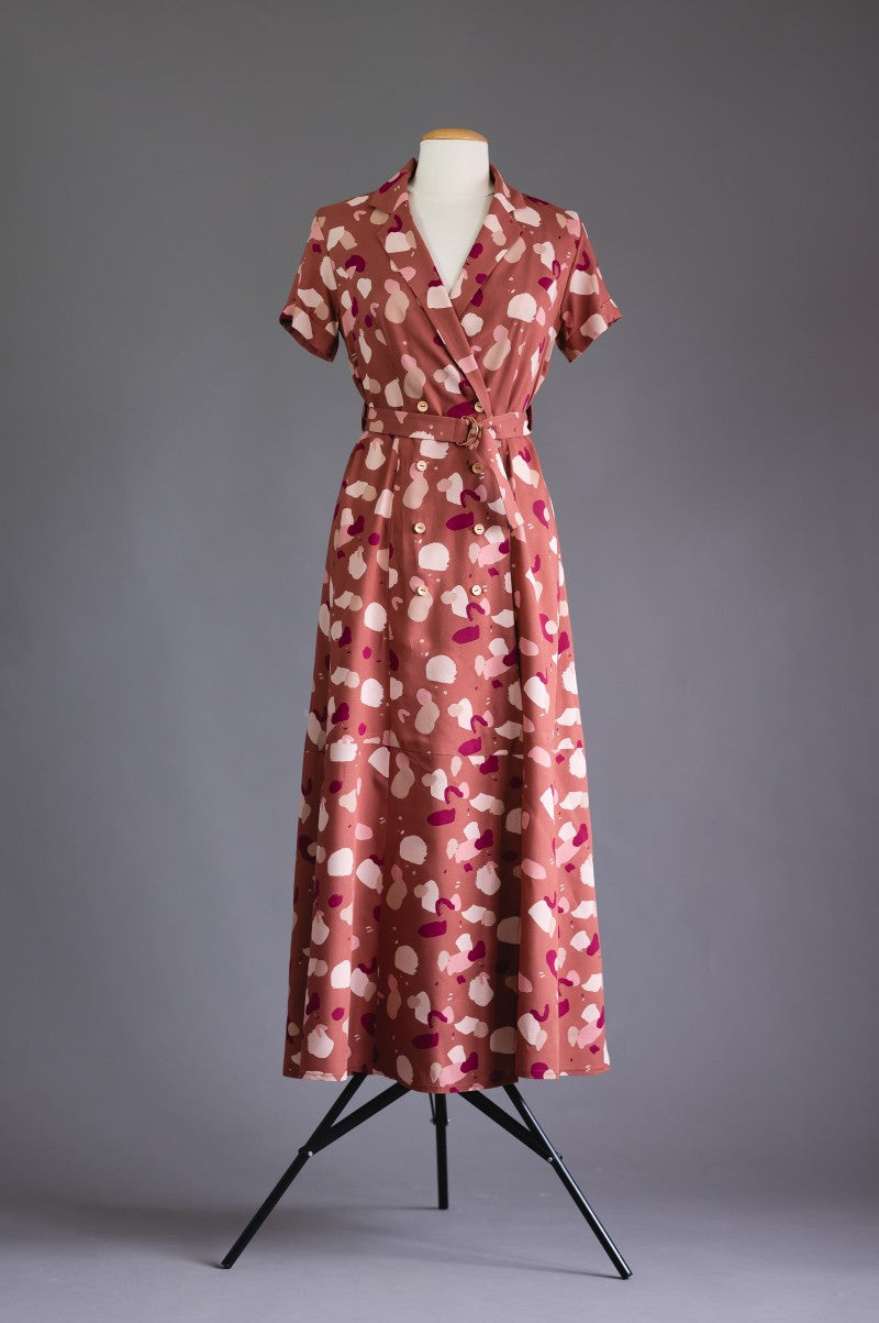 Deer and Doe Patterns - Plassiflore Dress