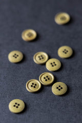Cotton Buttons 15mm - Various Colours