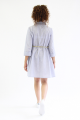 I Am Patterns, Libellule Shirt, Dress and Coat