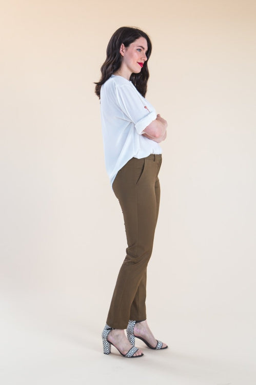 Closet Core Patterns Sasha Trousers