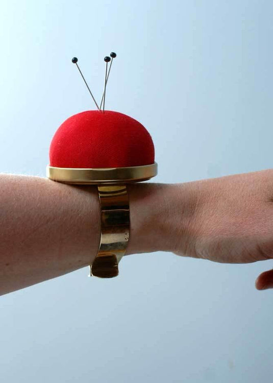 Bohin Wrist Pin Cushion - Red