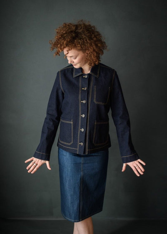 Merchant & Mills Ottoline Denim Jacket