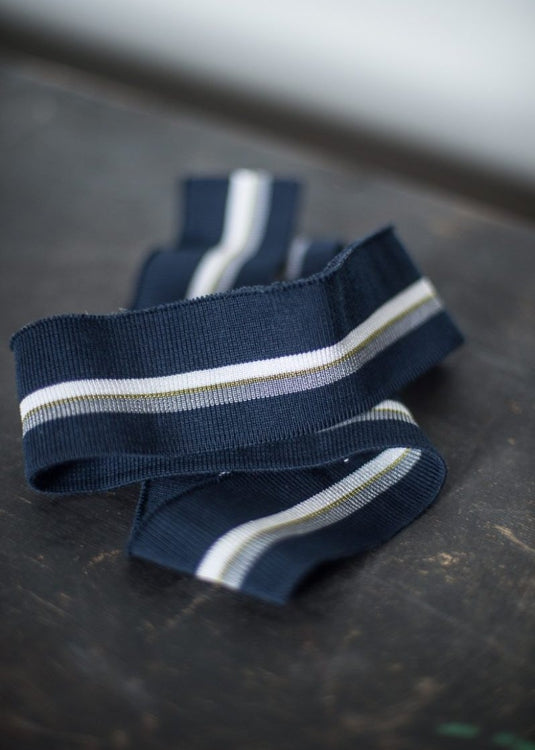 Striped Cotton Rib -  Tonje Rib