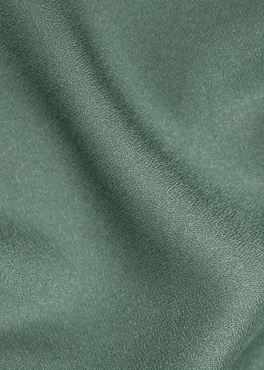 Viscose Crepe - Cedar Green