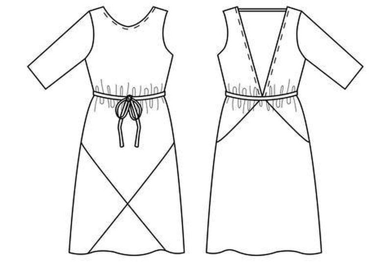 Papercut Patterns, Ravine Dress
