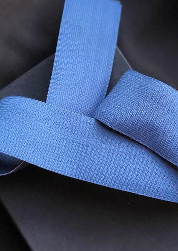 50mm Wide Elastic - Airforce Blue.