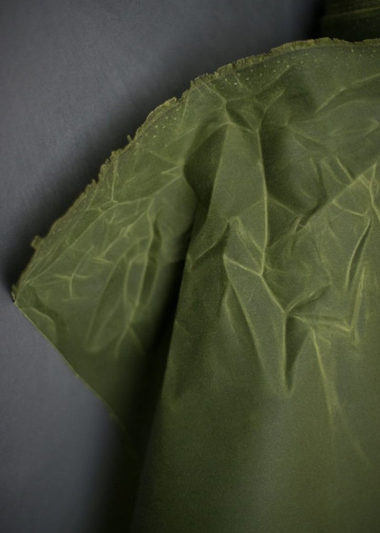 Grass Green Oilskin