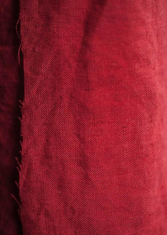 European Laundered Linen - Demon Scarlet