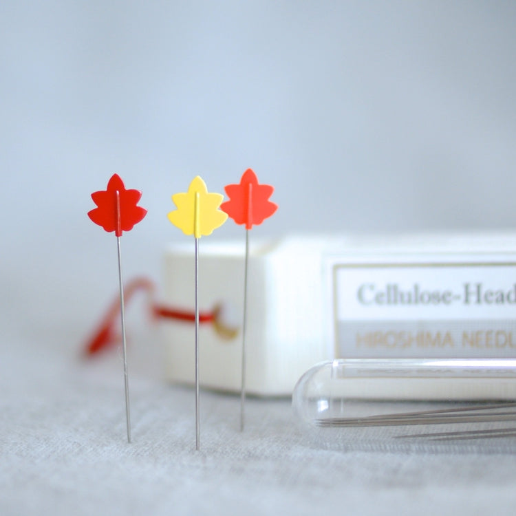 Tulip Cellulose-Head Pins - Momiji