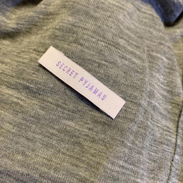 'Secret Pyjamas' sew in labels.  Kylie and The Machine