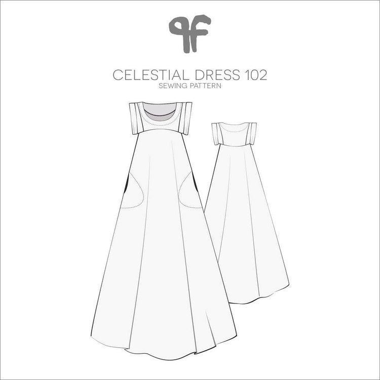 Pattern Fantastique - Celestial Maxi Dress and Top