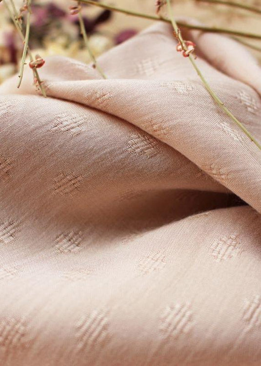 Woven Viscose - Diamond Blush Pink