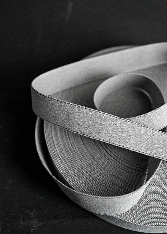 Bag Webbing - Howell Marl Grey 38mm