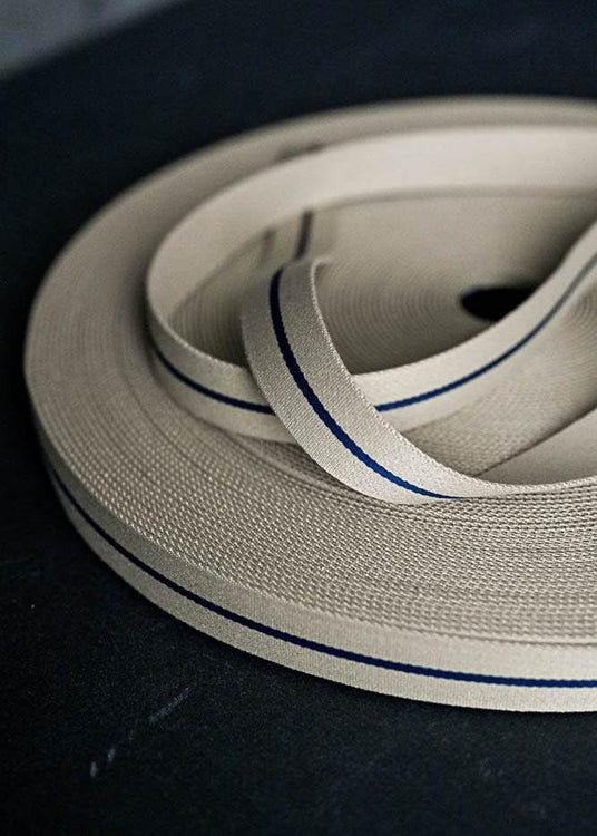 Bag Webbing - Long Road 30mm  Navy