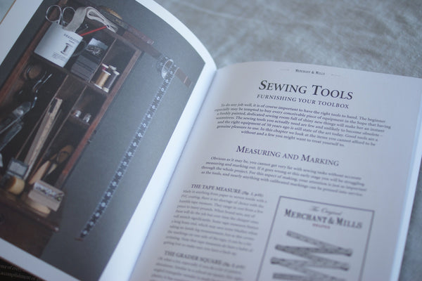 Merchant & Mills Sewing Book