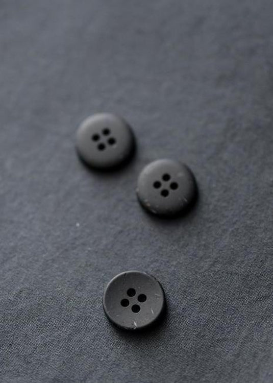 Inky Speckles Button 18mm