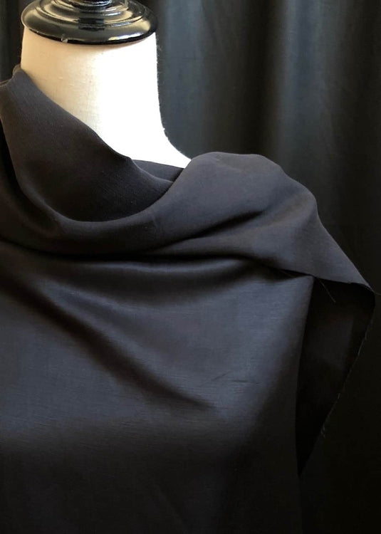 Reveal Linen Viscose. Black