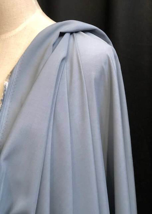 Textured Tencel, Smokey Blue
