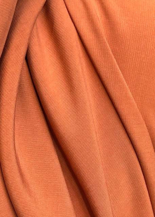 Textured Tencel, Rust