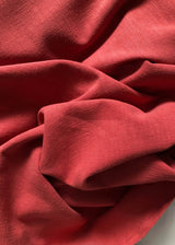 Washer Heavy Weight Linen - Paprika