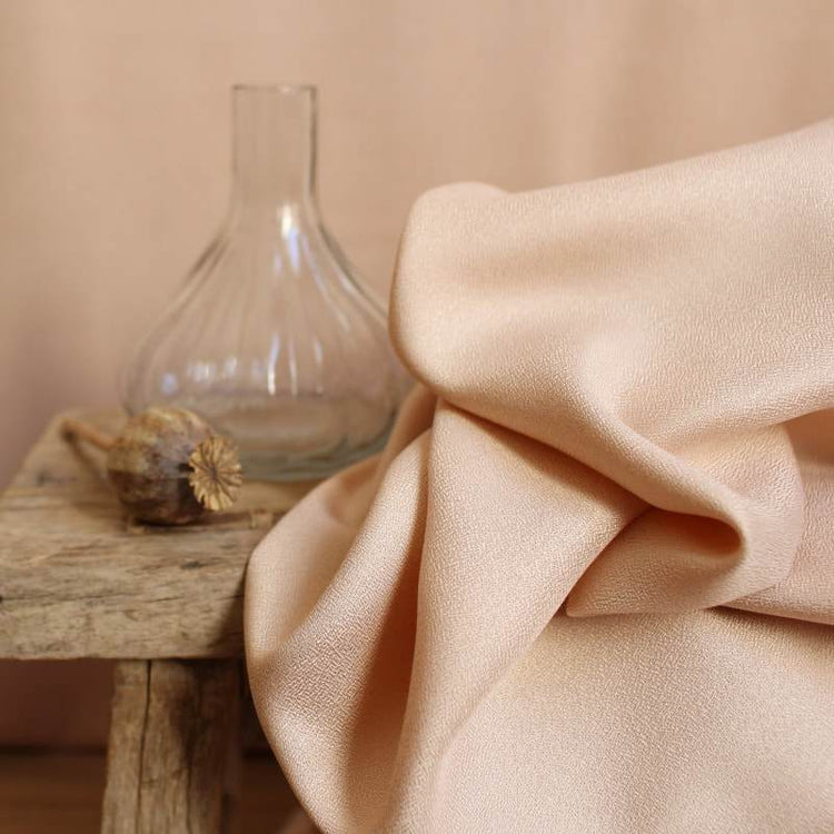 Viscose Crepe - Blush