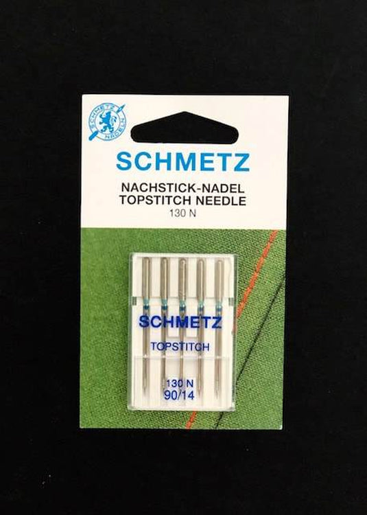 Schmetz Sewing Machine Needles - Topstitch 90/14