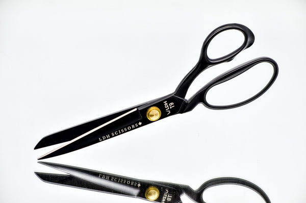 "LDH Matt Black 9.5"" Tailor's Shears"