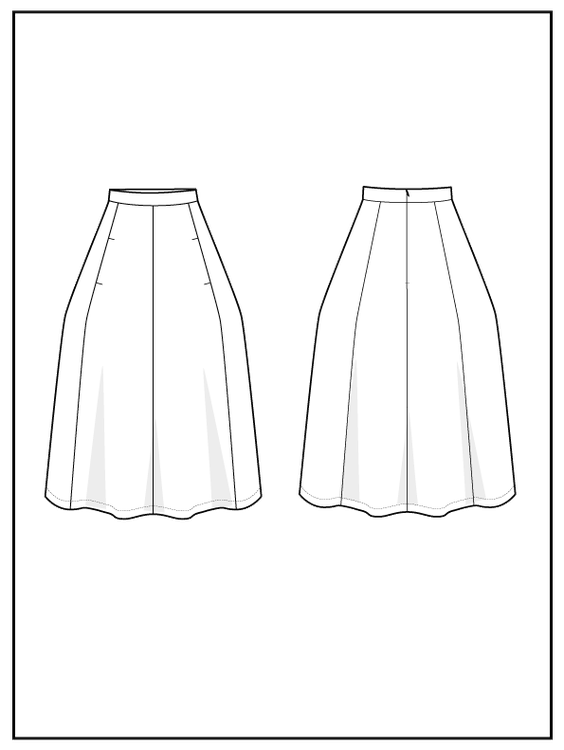 The Assembly Line - Tulip Skirt