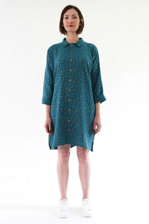 I Am Patterns, Lucienne Shirt and Dress