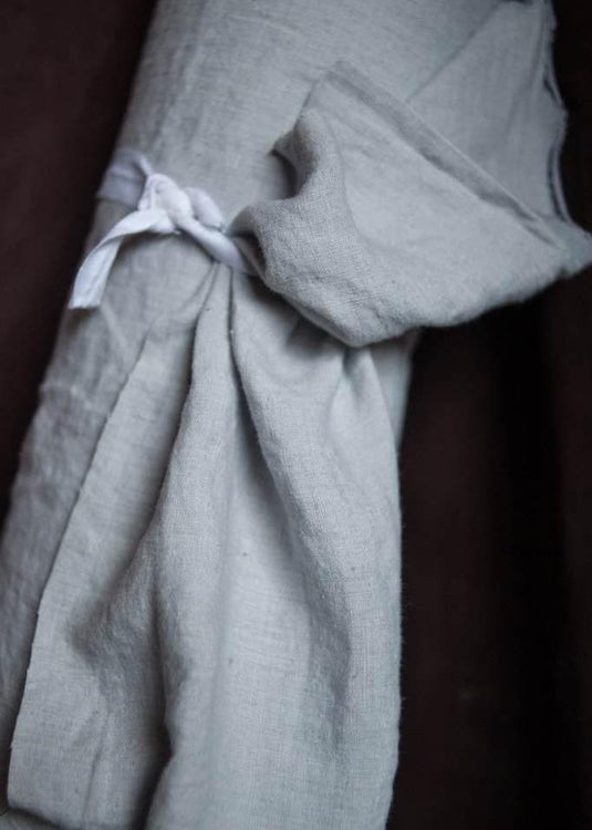 European Laundered Linen - Polar Grey