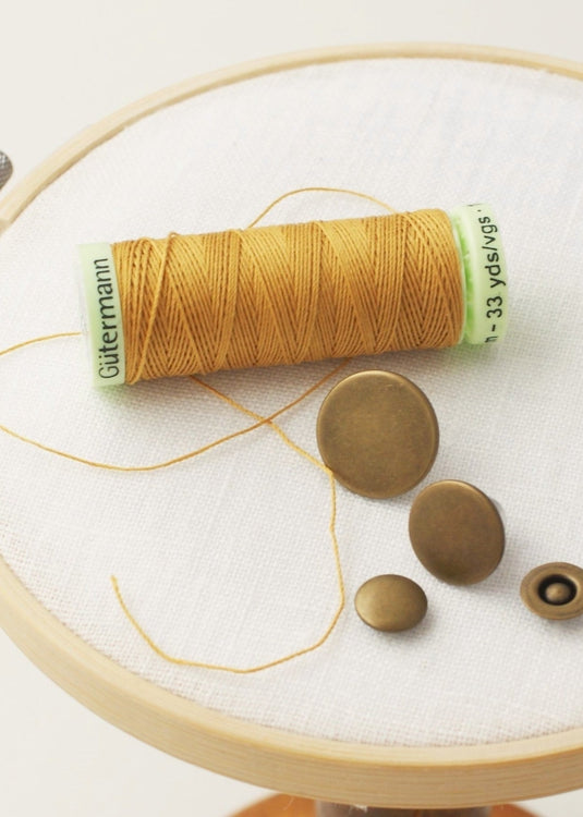 Gutermann Topstitching Thread - Antique Bronze
