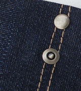 Jeans Rivets - pack of 10. Antique Nickel.  Ring 9mm
