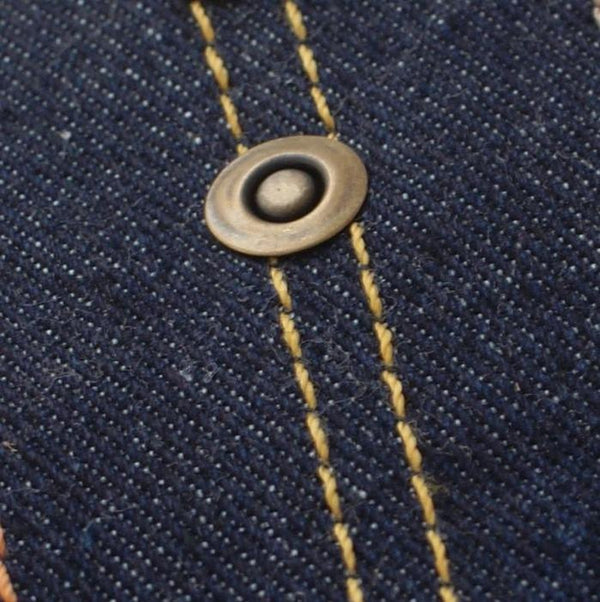 Jeans Rivets - pack of 10. Antique Bronze.  Ring 9mm