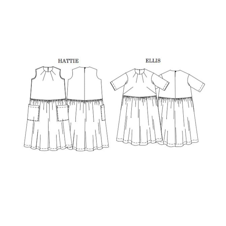 Merchant & Mills The Ellis and Hattie Dresses