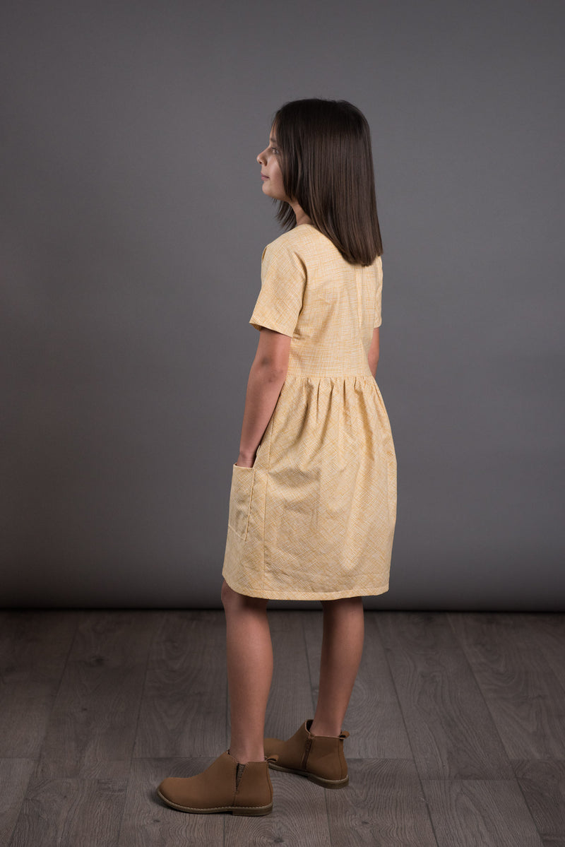 The Avid Seamstress - Girls Gathered Dress