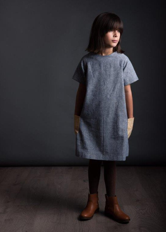 The Avid Seamstress - Girls Raglan Dress