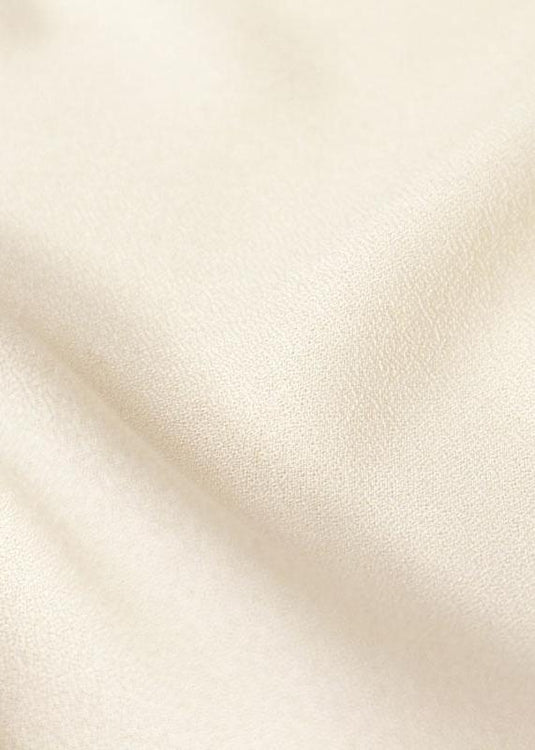 Viscose Crepe - Off White