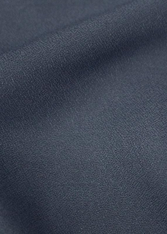Viscose Crepe - Midnight Navy