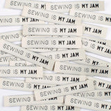 Sewing is My Jam! sew in labels.  Kylie and The Machine