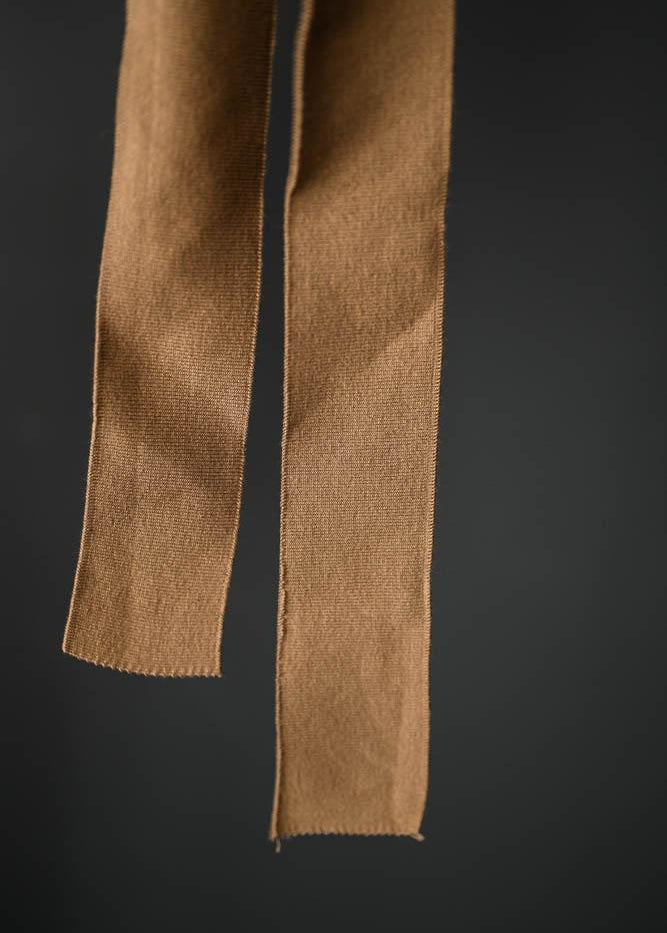 Cotton Cuff Rib - Tan
