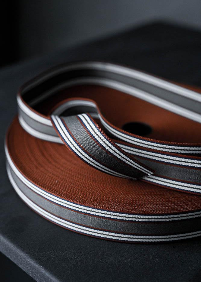 Bag Webbing - Trinian 40mm Grey