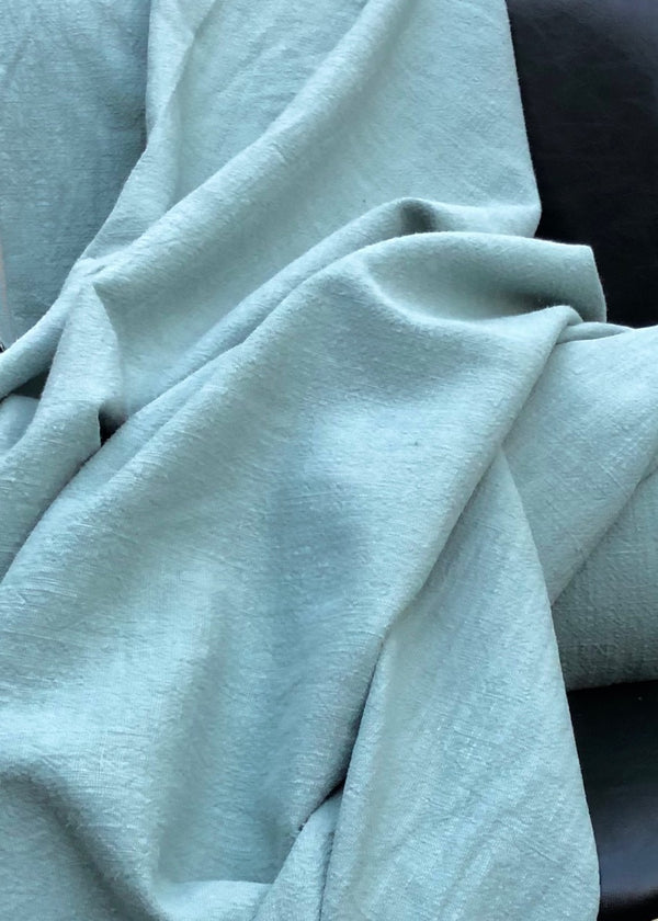 Washer Heavy Weight Linen - Duck Egg Blue