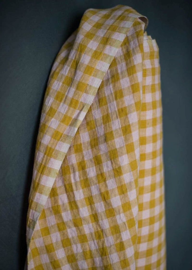 Wes GIngham Laundered Linen