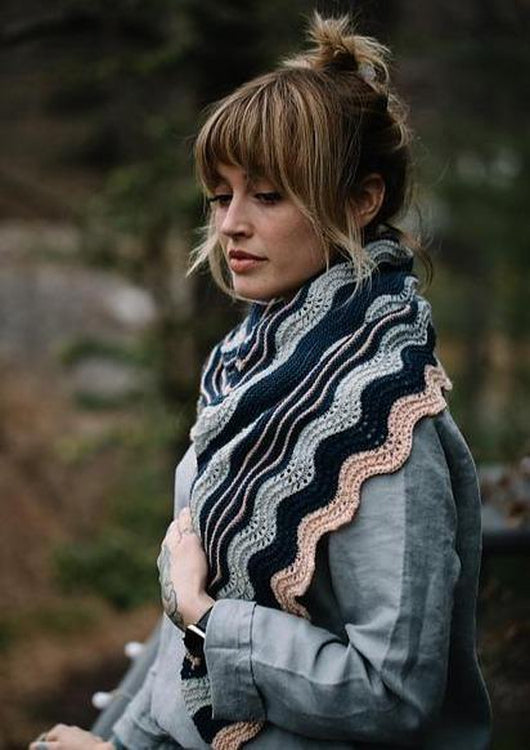 Wildwood Shawl, Drea Renee Knits Knitting Pattern